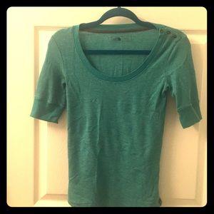 North Face short sleeve shirt